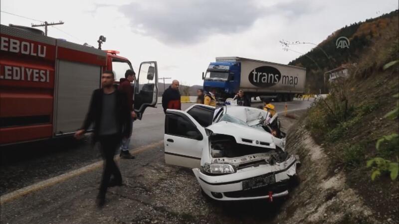 Kastamonu'da feci kaza: 3 ölü
