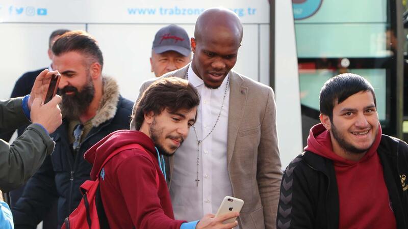 Trabzonspor İzmir'e gitti