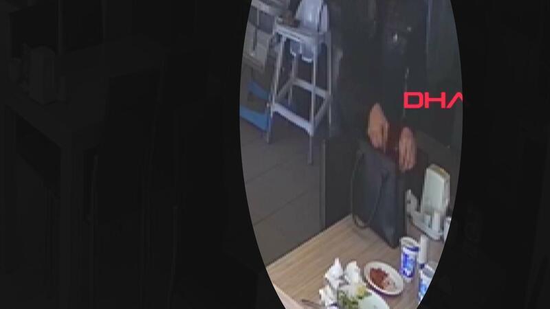 Yemek yediği restoranda son parasını çaldırdı