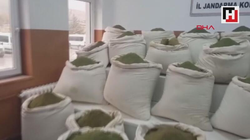 Lice'de 1 ton 47 kilo esrar ele geçirildi