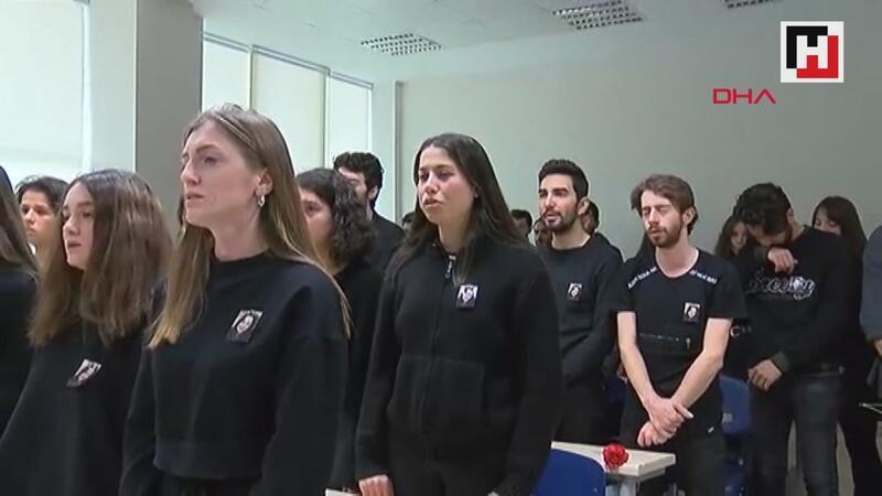 Ceren Özdemir'in okulunda anma töreni