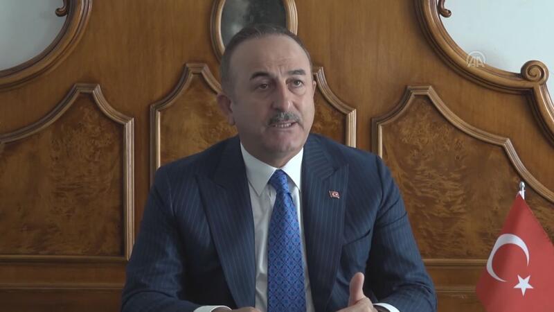 Çavuşoğlu, Yunanistan'ın Libya'dan mutabakat zaptı talebi hakkında konuştu