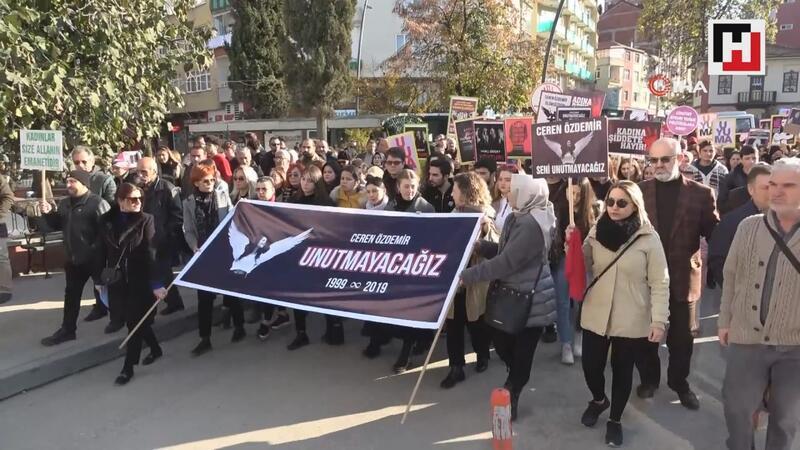 Ceren Özdemir için Fatsa'da 3 bin kişi yürüdü