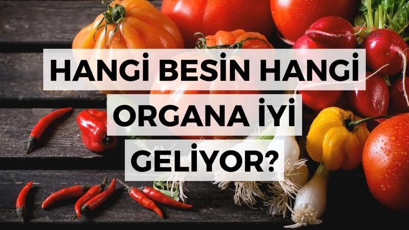 Hangi besin hangi organa iyi geliyor?