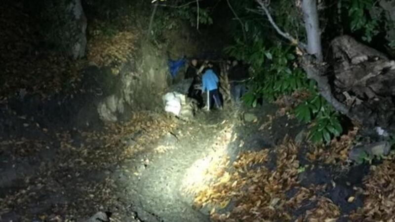Kaçak maden ocağında iş kazası