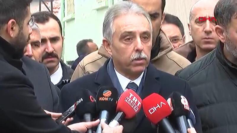 Konya Valisi Toprak, çöken ev ile ilgili açıklama yaptı