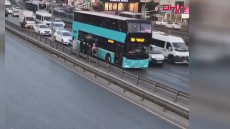 D-100'DE otobüs çilesi