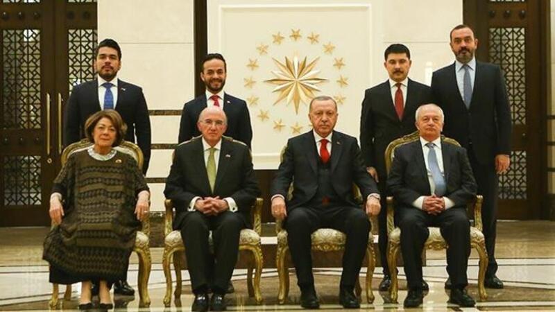 Meksika Büyükelçisi Hernandez, Erdoğan'a güven mektubunu sundu