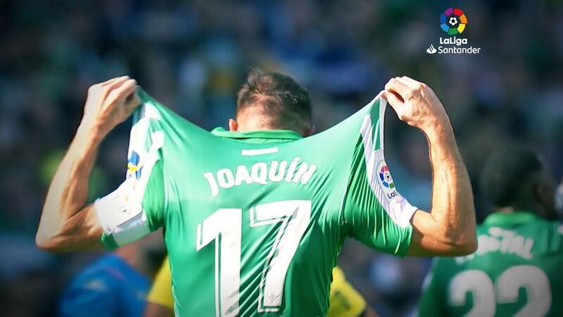 La Liga'da haftanın oyuncusu Joaquin Sanchez!