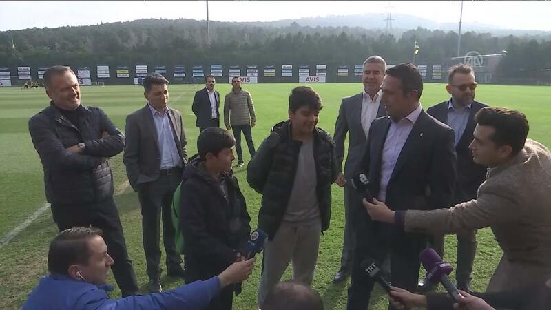 Ali Koç minik taraftarları maça davet etti