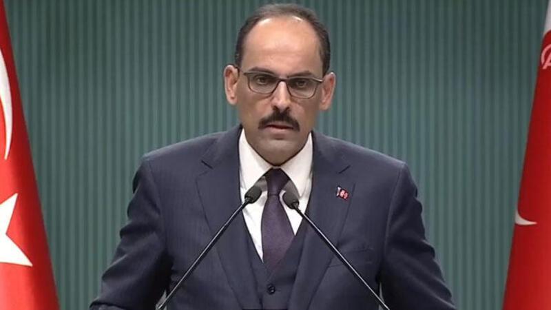Cumhurbaşkanlığı Sözcüsü İbrahim Kalın basın toplantısı düzenledi