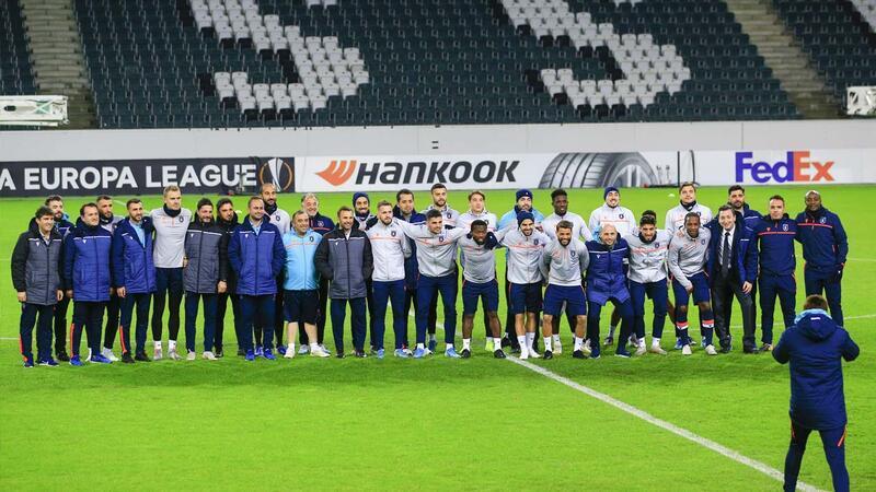 Medipol Başakşehir Mönchengladbach maçına hazır