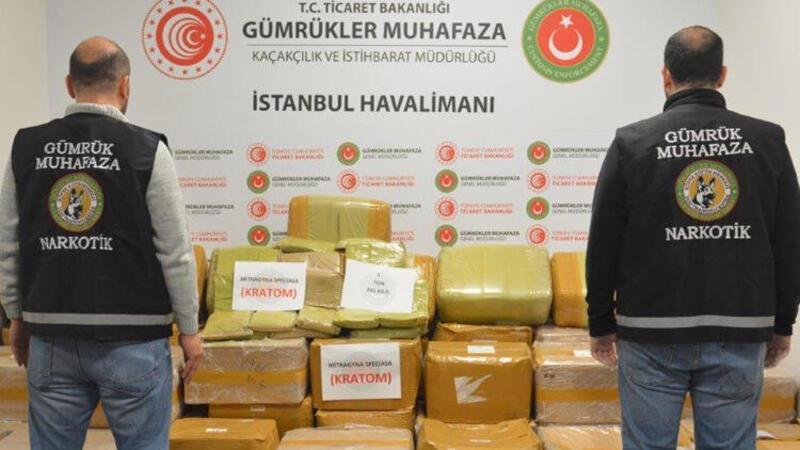 İstanbul Havalimanı'nda büyük uyuşturucu operasyonu