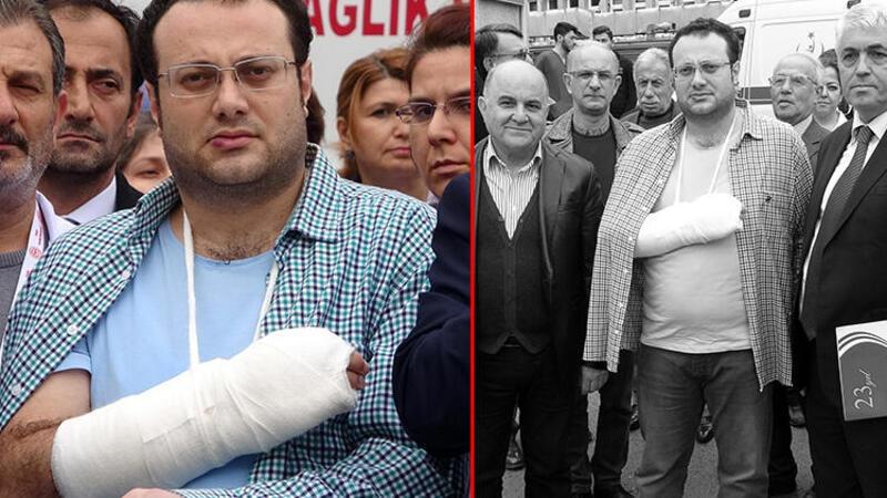 Trabzon'da darp edilen doktorun el bileği ve parmakları kırıldı