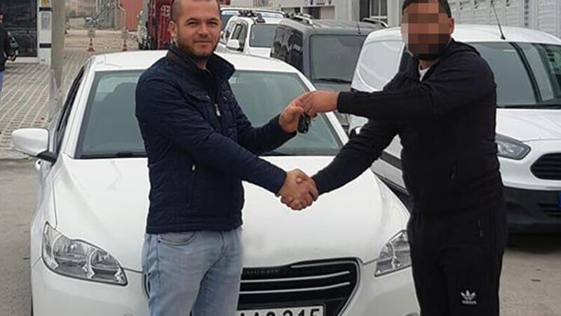 Yeni aldığı araca 5 bin liralık ikiz plaka cezası