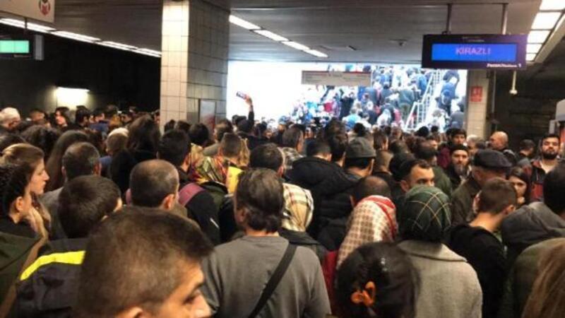 Metrodaki arızanın nedeni belli oldu