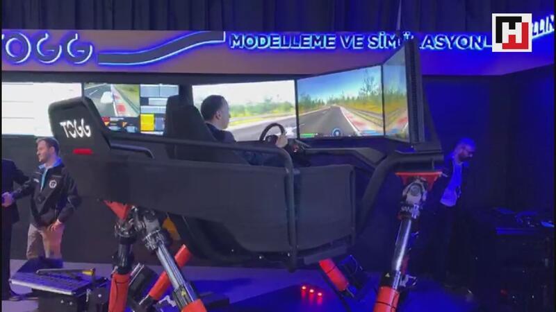 Hurriyet.com.tr editörleri yerli otomobil simülatöründe
