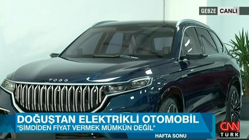 Yerli otomobil CEO'su Mehmet Gürcan Karakaş CNN Türk'te
