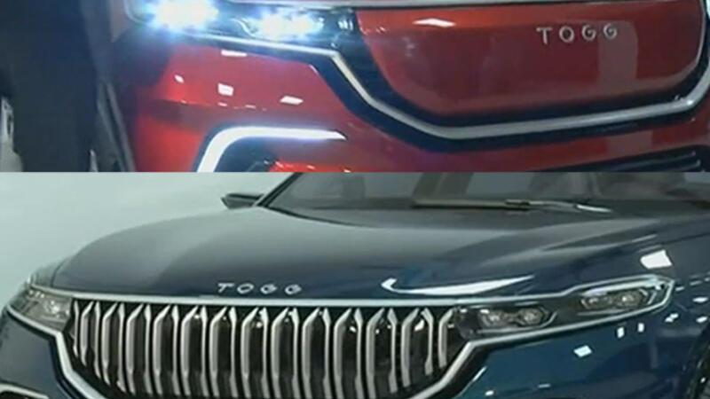 İki yerli SUV modelin ön tarafındaki farklılığın nedeni nedir?