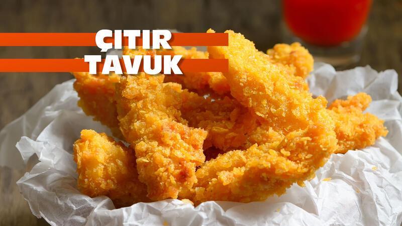 Sipariş vermekten bile kolay: Çıtır tavuk