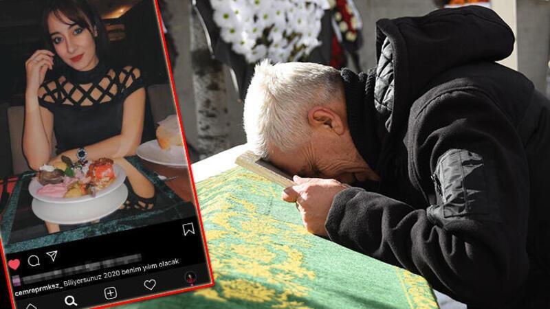 Kazada ölen genç avukat Cemre, toprağa verildi