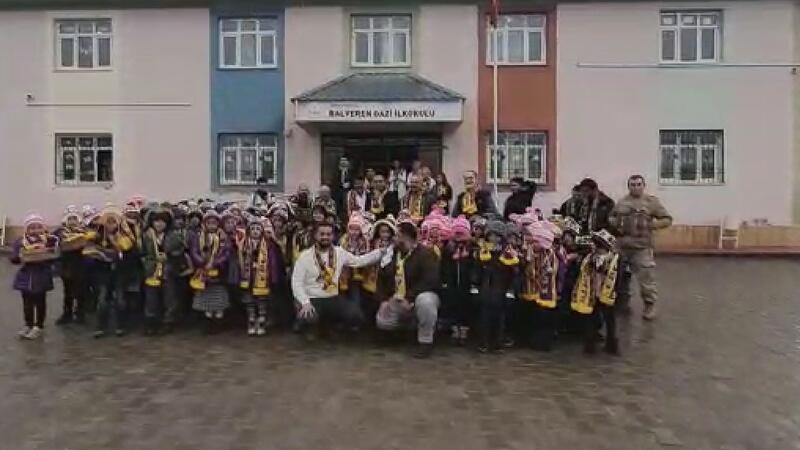 Eyüpspor Taraftar Derneği'nden Şırnak'taki öğrenciler için yardım kampanyası