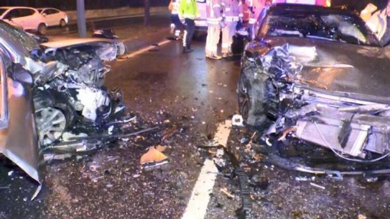 Ters yöne giren alkollü sürücü zincirleme kazaya neden oldu
