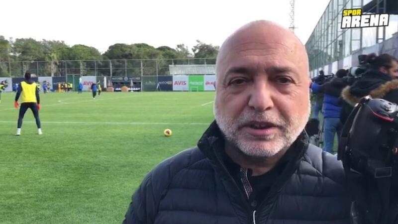Fenerbahçe idmanında Ali Koç sürprizi