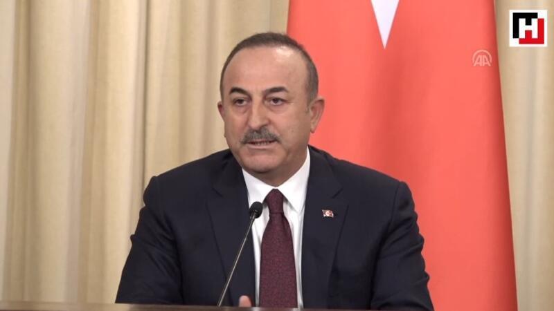 Dışişleri Bakanı Mevlüt Çavuşoğlu açıklamalarda bulundu