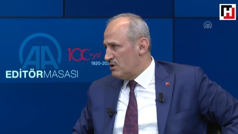 """Turhan: """"Kanal İstanbul Projesi ile Hollandalı, Belçikalı, Fransız firmalar ilgileniyor"""""""