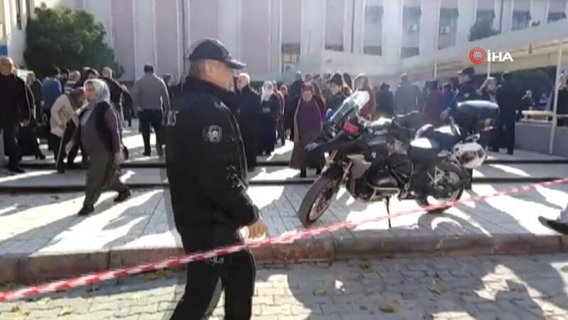 Tarsus'ta devlet hastanesinde onarım sırasında patlama