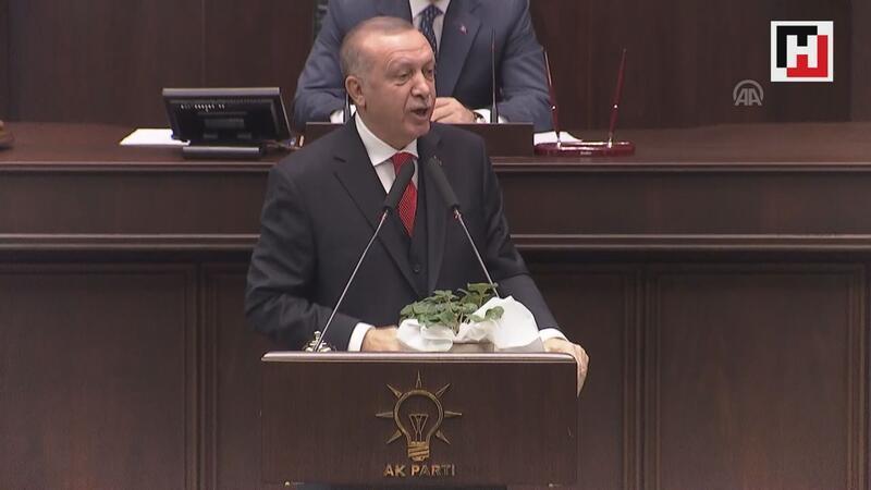 """Cumhurbaşkanı Erdoğan: """"Darbeci Hafter, masada bir yalan darbesi yaparak Moskova'yı terk etti"""""""