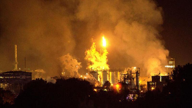 İspanya'da petrokimya tesisinde patlama