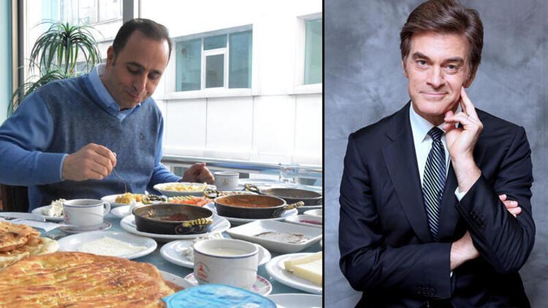 Prof. Dr. Öz'e, Vanlı kahvaltıcılardan davet