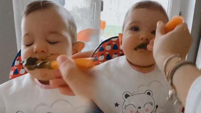 Pelin Akil'in yemek mücadelesi... Ispanak karşıtı Lina!