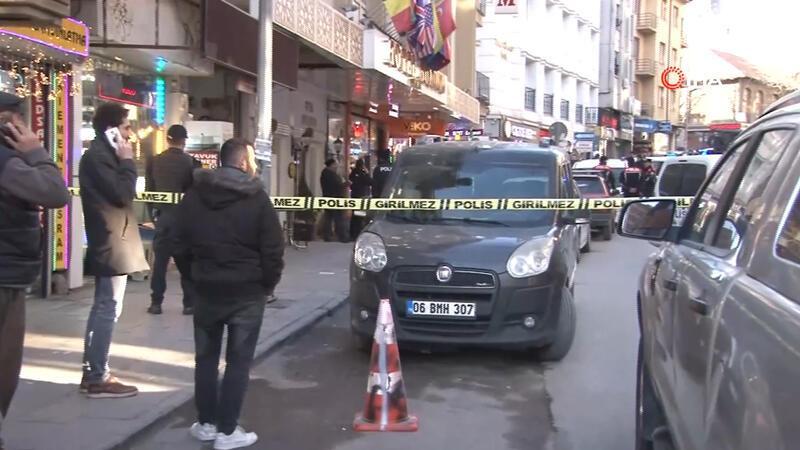 Ankara'da otelden ateş açıldı
