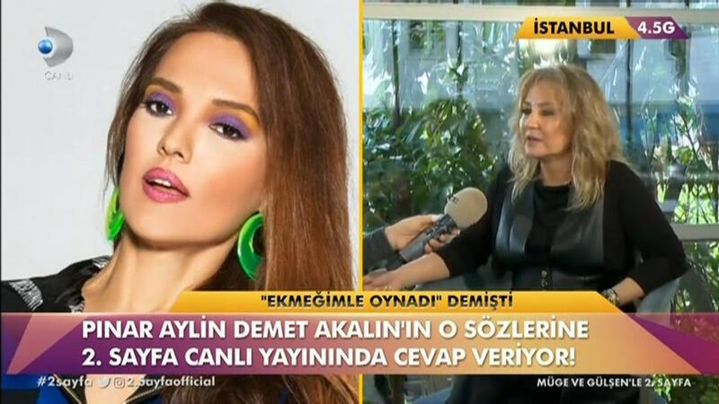 Demet Akalın'a Pınar Aylin'den cevap geldi