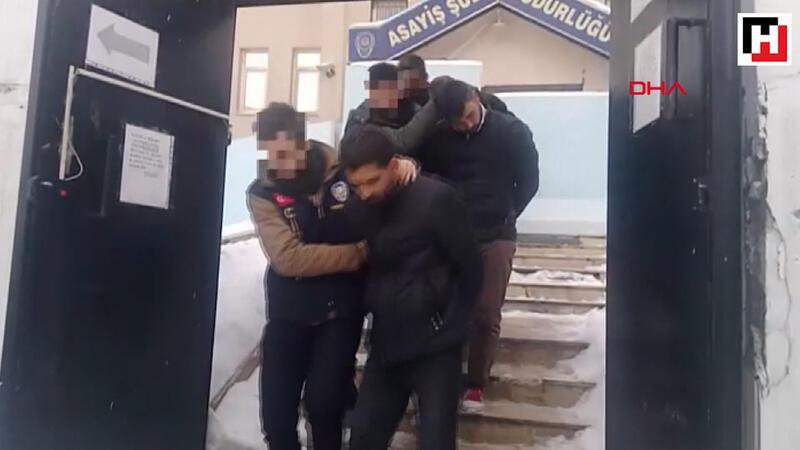 Van'da gasp çetesine 3 tutuklama