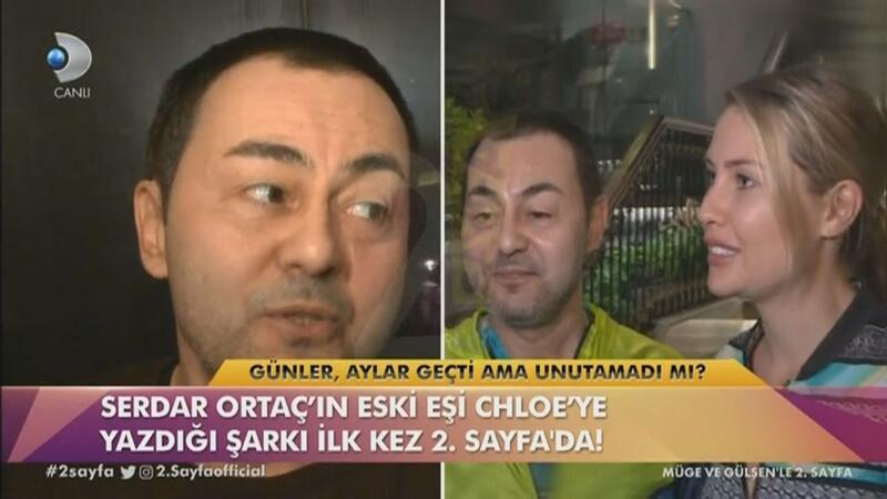 Serdar Ortaç, eski eşi için şarkılar yazdığını söyledi