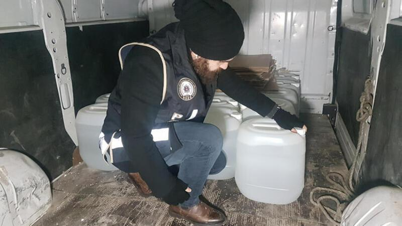 İstanbul'da metil alkol operasyonu