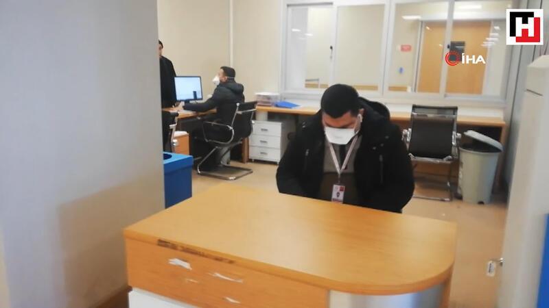 Devlet hastanesinde domuz gribi şüphesi