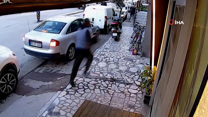 Sokak ortasında pompalı tüfekle kurşun yağdırdı