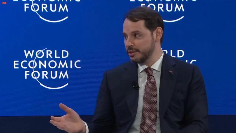 Bakan Albayrak Davos Zirvesi'nde