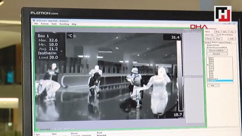 """İstanbul Havalimanı'nda """"Corono Virüsü"""" alarmı"""