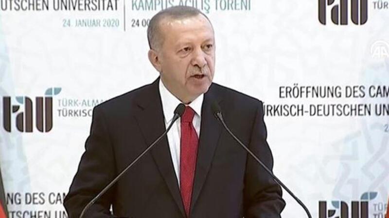 Cumhurbaşkanı Erdoğan: Sükûnet sağlanmazsa olaylar tüm Akdeniz havzasını etkileyecek
