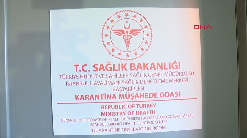 İstanbul Havalimanı'ndaki karantina odası 'Koronavirüs' için hazır