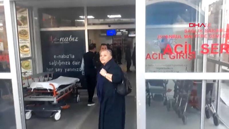 Maltepe Devlet Hastanesi'nde yangın paniği