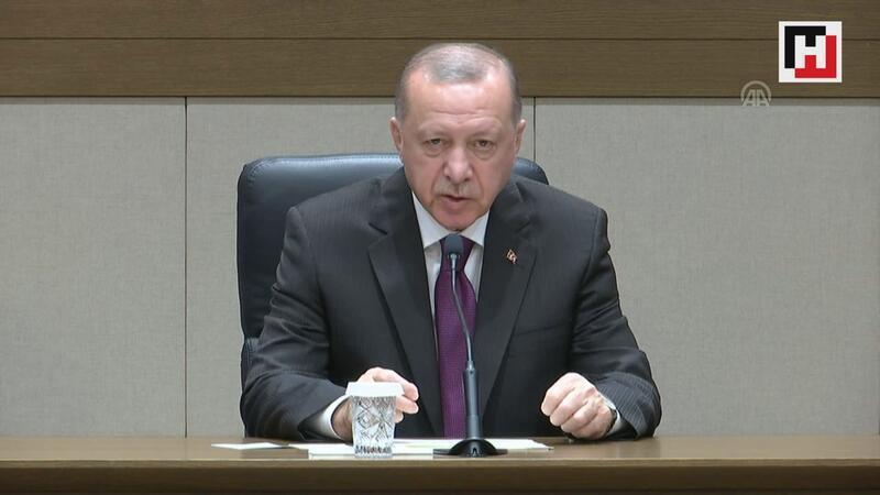 """Cumhurbaşkanı Erdoğan: """"Devletimiz tüm imkanlarıyla vatandaşlarımızın yardımına koşmuştur"""""""