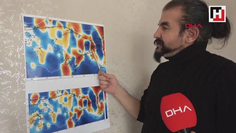 4 yıl önce hazırlanan gerilim haritası, Elazığ depremini işaret ediyor