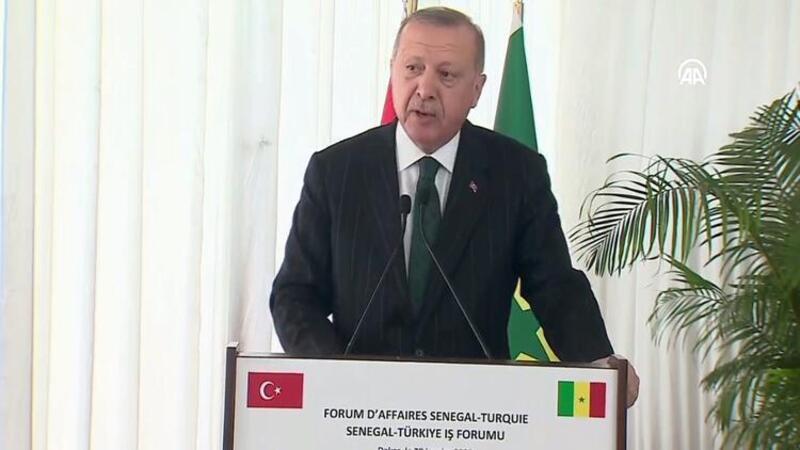 """Cumhurbaşkanı Erdoğan: """"Dünyadaki 10 önemli dev altyapı projesinden 6'sı Türkiye'de bulunuyor"""""""